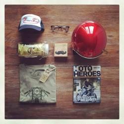 hipster motard biker cafe racer