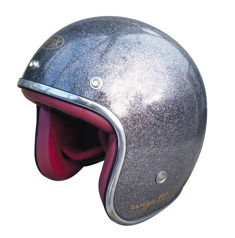 le casque jet wyatt de torx est un casque bol au look m tal flake gris id al pour donner du. Black Bedroom Furniture Sets. Home Design Ideas