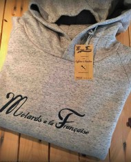 sweat capuche moto hipster vintage