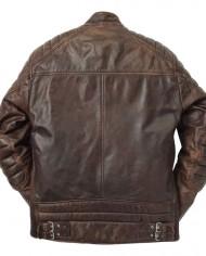 empire-used-brown-veste-motard-coupe-ajuste-pas-cher-promo-soldes-hipster