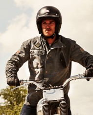 escape-waxed-anthracite-motard-veste-impermeable-coupe-droite-mode ride-and-sons-pas-cher-promo-solde