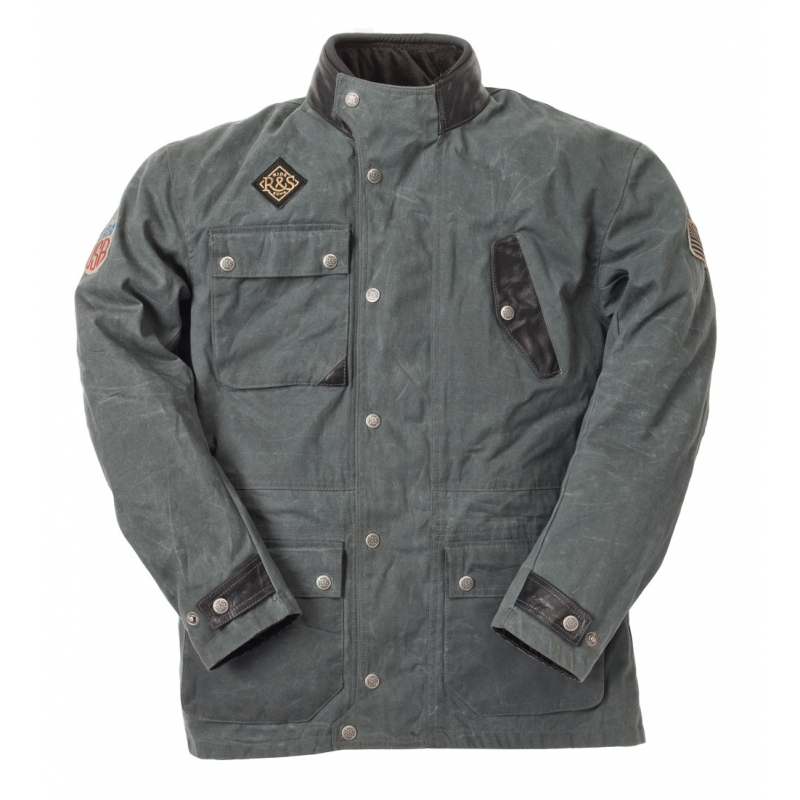 Cotton The Grey Jacket Waxed Escape wqYqUB
