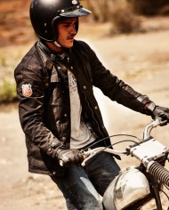 escape-waxed-black-veste-motard-pas-cher soldes-ride-and-sons