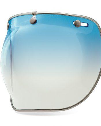 visiere bulle bubble bell custom 500 pas cher ice blue bleu degradé gardient deluxe