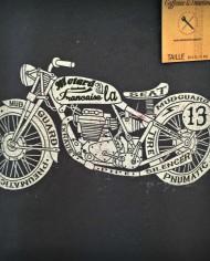 t shirt moto vintage cafe racer norton