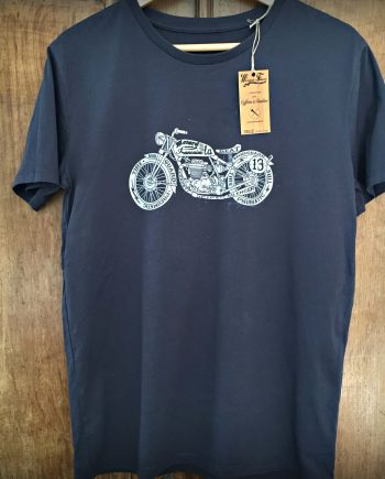 tee shirt moto vintage cafe racer norton
