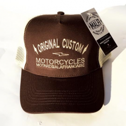 casquette cafe racer malf motards a la francaise trucker custom hipster