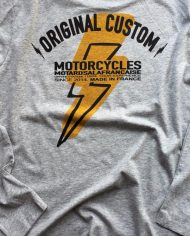 tee shirt manches longues cafe racer custom malf motards a la francaise biker moto eclair