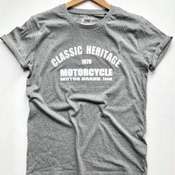 t shirt classic heritage motards a la francaise cafe racer 2