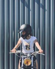 look motarde casque